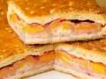 Empanada de bacon con dos quesos